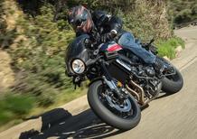 Yamaha XSR 900 Abarth. La café racer dello Scorpione