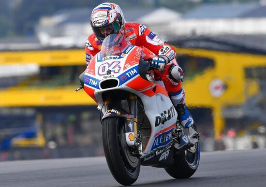 MotoGP 2017. Dovizioso si aggiudica le FP2 del GP di Francia