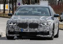 BMW Serie 7: ecco la G11. Debutterà nel 2016