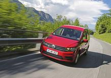 Volkswagen Caddy TGI a metano. Puliti alla meta