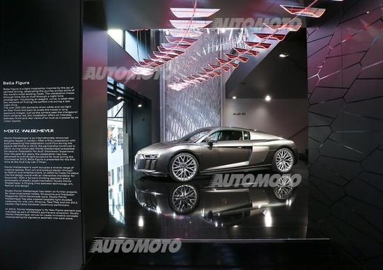 Audi City Lab. Walter De Silva: Il design è sentire la bellezza