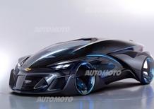 Chevrolet-FNR, la concept che guarda al futuro