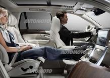 Volvo XC90 Lounge Console concept: abitacolo da mille una notte