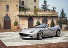 Ingrid Bergman e Jacqueline Kennedy ispirano una speciale Ferrari California T