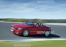 Mercedes SLK 2015, nuovi motori per la roadster della Stella