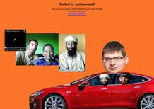 Tesla, hackerato il sito web e l'account Twitter di Elon Musk