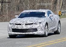 Chevrolet Camaro, la prossima generazione avrà un 4 cilindri