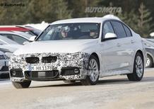 BMW Serie 3, con il facelift in arrivo anche i 3 cilindri