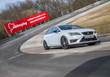 "Seat Leon ST Cupra, il Nurburgring in 7'58""12 [video]"