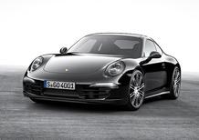 "Porsche 911 e Boxster Black Edition, look ""total black"""
