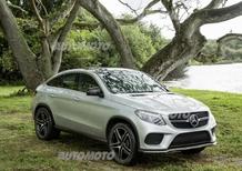 Mercedes GLE 450 Coupé: un ruolo da protagonista in Jurassic World