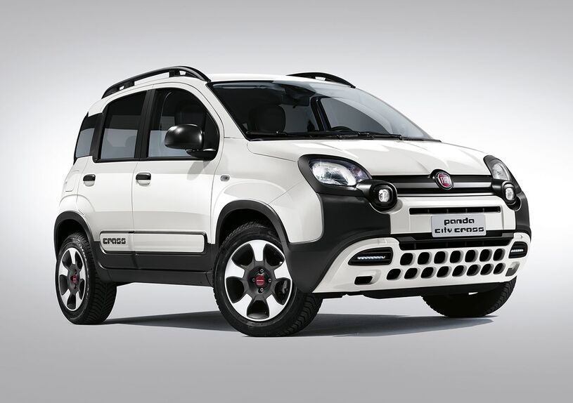 fiat panda city cross e 4x4 2017 compatte ma offroad. Black Bedroom Furniture Sets. Home Design Ideas