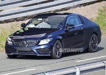 Mercedes Classe C Coupé: ultimi test per il muletto