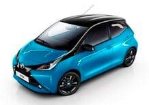 Toyota Aygo x-cite, il nuovo allestimento bicolore