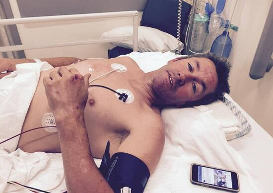 Troy Bayliss: un nuovo incidente nel Flat Track