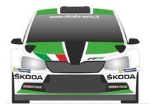 Skoda Fabia R5 pronta al debutto a San Marino con Scandola