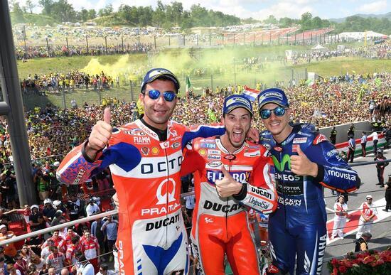MotoGP. Le pagelle del GP d'Italia 2017