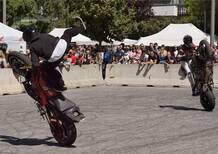 Stelvio Stunt Competition Match, gare di abilità al Raduno