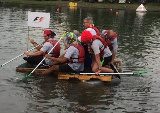 La McLaren ha vinto il GP del Canada. Di rafting però...