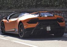 Lamborghini Huracan Performante Spyder, vento tra i capelli con 630 CV