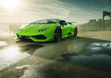 Lamborghini Huracan sotto steroidi con Novitec