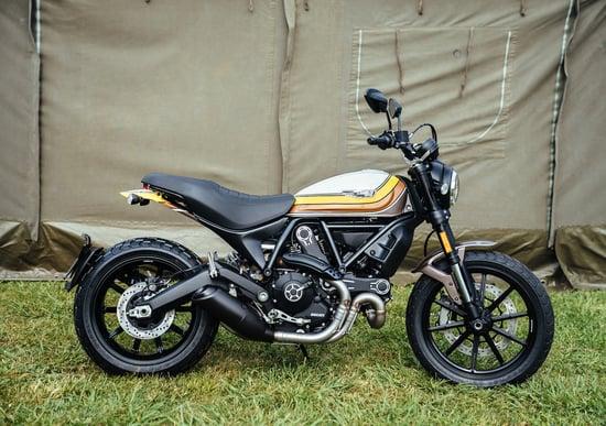 Ducati Scrambler, due novità al Wheels and Waves