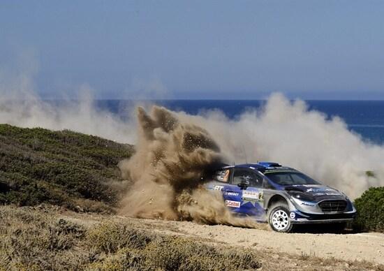 WRC17 Italia Sardegna. Super Highlights #1. Tanak e M-Sport