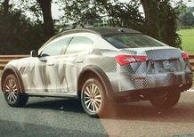 Maserati Levante, nuove foto spia. All'inizio sarà solo a benzina?