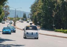 La Google Car debutta su strada a Mountain View