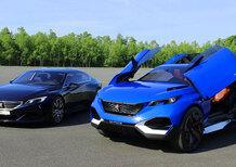 Peugeot Exalt e Quartz concept [video]