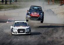 WRX 2015. Rallycross di Svezia-Holjes. Hansen… anzi no, Mattias Ekstrom (Audi)