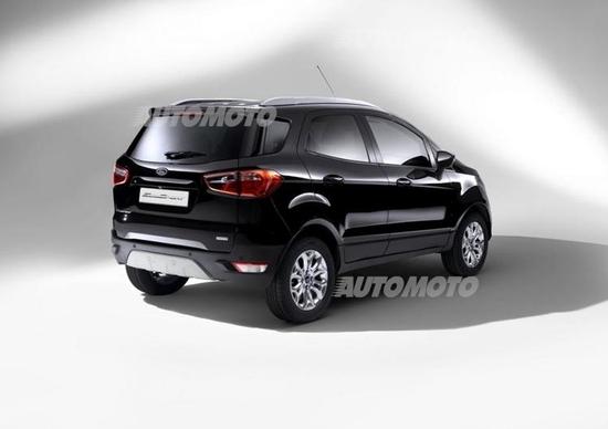 Ford EcoSport restyling, nuovo look per il SUV compatto
