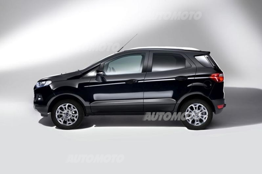 ford ecosport restyling nuovo look per il suv compatto news. Black Bedroom Furniture Sets. Home Design Ideas
