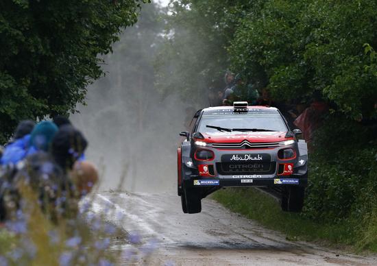 WRC 2017/Citroen. Mikkelsen guida il Team Laboratorio in Polonia