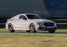 Mercedes-AMG C63 Coupé: il lancio ad agosto, debutterà a Francoforte