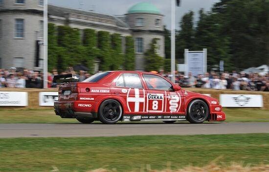 Una Alfa Romeo vincente in casa tedesca: la 155 V6 Ti DTM del 1993