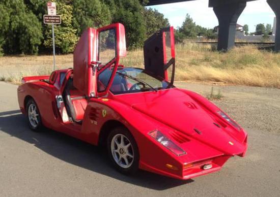 Ferrari Enzo: quando la replica è agghiacciante