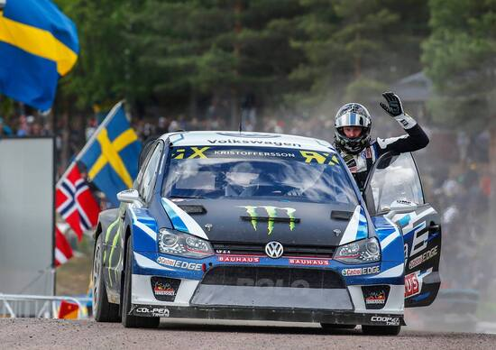 Mondiale Rallycross Svezia. Kristoffersson (VW) Vince anche a Holjes