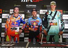 MX 2017. GP del Portogallo. Le interviste dal podio