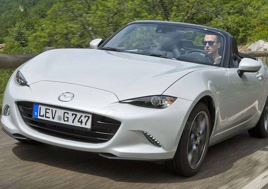 Nuova Mazda MX-5 [VIDEO]