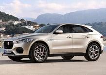 Jaguar E-Pace: il rendering della rivale di  Mercedes GLC e BMW X3