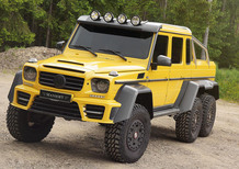 Mercedes G63 AMG 6x6 by Mansory: ecco il Dominatore