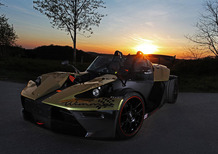 KTM X-BOW GT Dubai Gold Edition by Wimmer: pistaiola luccicante