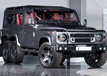 Land Rover Defender: Kahn Design la crea 6x6