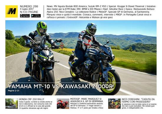 Magazine n° 298, scarica e leggi il meglio di Moto.it