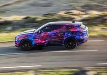 Jaguar F-Pace: promette nuovi standard di guidabilità per la categoria