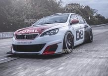 Peugeot 308 Racing Cup, il Leone che va di corsa