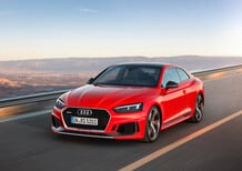 Nuova Audi RS5 2017, sovrasterza e diverte [Video primo test]