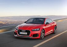 Nuova Audi RS5 2017, sovrasterza e diverte [Video primo test]