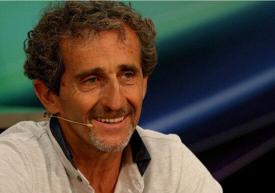Alain Prost e la F1 ai tempi dei social
